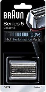 Braun Series5 52S Replacement Foil & Cutter Cassette Multi Silver BLS Combi Pack