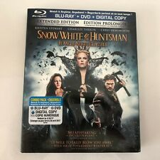 Snow White and the Huntsman (Blu-ray/DVD, 2012, Canadian) New Sealed