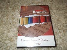 Literary Terms & Devices Challenge Game CD-ROM by Teacher's Brunch *NEW*