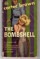 The Bombshell Carter Brown Vintage Mystery Pb 1st 1960 Sleaze Signet Gga 1767