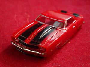 New 1969 Red Z28 Camaro MoDEL MoToRING T-jet HO Scale Slot Car Body Aurora RRR