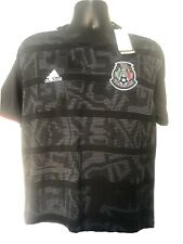 Adidas Mexico Black Jersey Authentic Size XL Mens Climachill 3 NWT Retail $90