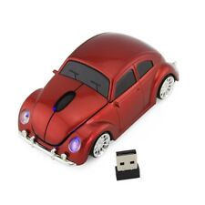 2.4Ghz Wireless Beetle Classic car Mouse optical PC Laptop Mice +USB Receiver US