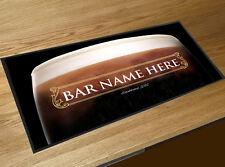 Personalizzato Stout Guinness Etichetta Oro Bar runner Cocktail Feste