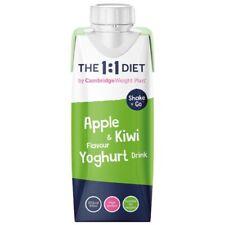 The 1:1 Weight Plan CWP - 12 Shake & Go Apple 🍎& Kiwi 🥝 Flavoured Yoghurt