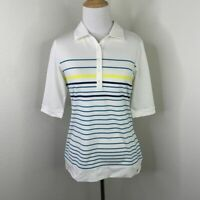 Nike Golf Shirt Women Size S Short Sleeve Collared Casual Polo Dri Fit Collared