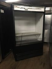 """True Tac-48 48"""" Refrigerated Open Air Grab And Go Cooler Display Case Used"""