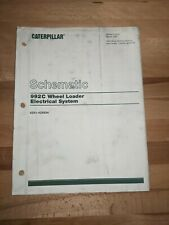 Caterpillar 992c Wheel Loader Electrical System Schematic Book Set