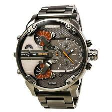 NEW DIESEL DZ7315 GUNMETAL MENS MR DADDY 2.0 57MM CHRONOGRAPH WATCH