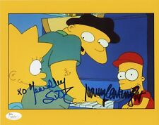 "YEARDLEY SMITH & NANCY CARTWRIGHT Hand-Signed ""THE SIMPSONS""8x10 Photo (JSA COA)"