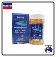 GREEN Super fined 100% Pure Tasmanian Squalene 1000mg 365 Capsules - Blue Shark