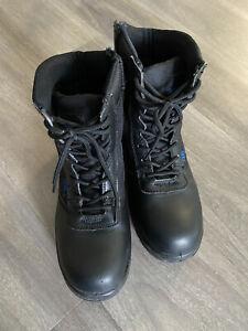 Stiefel Herren Damen Boots Wanderschuhe Outdoor Einsatz Security schwarz BW