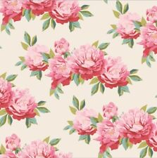 """Tilda Fabric NEW Cottage """"Minverva Dove White"""" 100% cotton fabric"""
