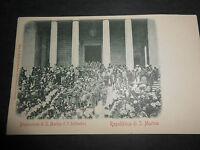 1900 CARTOLINA REPUBBLICA DI SAN MARINO PROCESSIONE DEL 3 SETTEMBRE VIAGGIATA