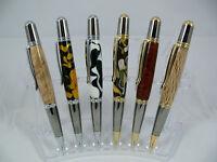 1 x Sierra Luxury Ball Point Twist Writing Pen Australian Hand Made Wood Resin