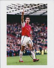Martin KEOWN Arsenal SIGNED COA Autograph 9x6 Photo AFTAL Genuine RARE