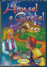 Hansel & Gretel (2003) DVD NUOVO SIGILLATO Cartoni Animati De Agostini