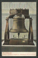 1900s THE LIBERTY BELL PHILADELPHIA PA UDB UNDIVIDED BACK POSTCARD