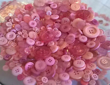 Buttons, Mixed Buttons, Large and Small Buttons, Craft and Sewing Many Colours