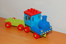 Lego Duplo Train parts Green Red Blue