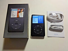 Apple Ipod Classic 6Th Gen. Black 80Gb.New Battery.