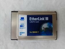 3Com 3C589D-TP PCMCIA Card - No Cable