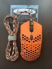 Finalmouse Ninja Air58 Sunset Custom with Hyperglides and Paracord