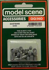 NIB HO Peco 5083 Dustbins 12 Piece Set