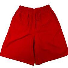 Vtg 80s Izod Lacoste Womens M 12 High Waist Mom Shorts Pull On Retro Pockets