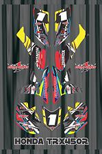 TRX 450R graphics Honda 450 ATV sticker kit FREE Semi Custom Service LIGHTNING3