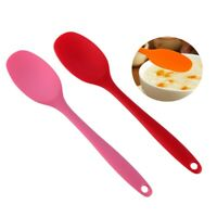 Silicone Spoon Flexible Durable Cooking Tool Multifunctional Kitchen Gadget NEW