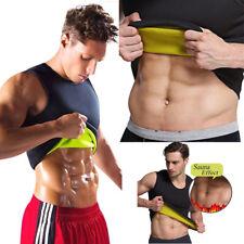 Sweat Sauna Body Shaper Men Slimming Vest Thermo Neoprene Waist Trainer M-5XL