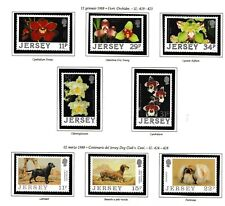 s35017 JERSEY 1988 MNH Complete year set Annata completa 3 scans