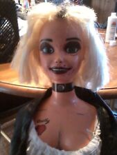 TIFFANY BRIDE OF CHUCKY DOLL CHILDS PLAY LIFESIZE BARBIE DOLL 3' ZOMBIE PROP