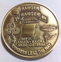 """3rd Army Ranger Challenge Coin """"First Issue"""""""