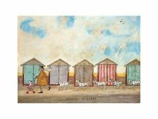 Spotty Joggers Sam Toft Art Print 12x9