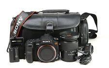 Sony A200 DSLR Camera + Sony DT 18-70mm Lens Kit + Battery & Charger
