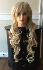 NIB MelodySusie Boutique Natural Vogue Wig Blonde Long Accessories