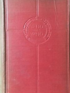 Who Was Who 1897 - 1916 Published 1920 A & C Black Limited No Dust Jacket