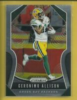 Geronimo Allison 2019 Panini Prizm Card # 116 Green Bay Packers Football NFL WR