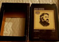 Vintage 8 Track Tape Kenny Rogers Self Titled Untested