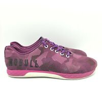 NOBULL Just The Horns Purple White Trainers Workout Shoes Women's Size 9