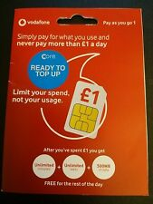 Brand New Vodafone PAYG1 Sim Card