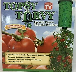 Topsy Turvy Upside Down Tomato Planter Hanging Vegetable Planter As Seen on TV