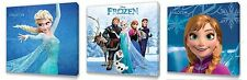 Frozen Kids canvas I wall art plaque pictures set of three