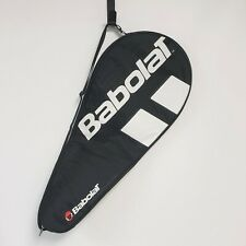 """Babolat Padded Tennis Racquet Cover Black, white Red MINT condition 29"""" long"""