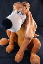 Disney Store Bruno Bloodhound Dog Cinderella Plush Toy Large  Stamped Ex Cond