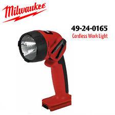 Milwaukee 49-24-0165 18 Volt Cordless Flashlight, uses 48-11-1830 Battery NEW