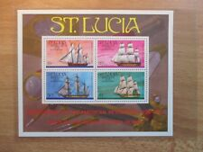 Briefmarken St.Lucia Block 8 postfrisch