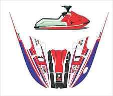 kawasaki 650 x2 650x2  jet ski wrap graphics pwc decals decal kit 1985 1995 pjs